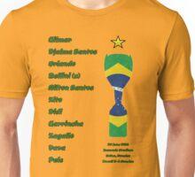 Brazil 1958 World Cup Final Winners Unisex T-Shirt