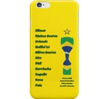 Brazil 1958 World Cup Final Winners iPhone Case/Skin