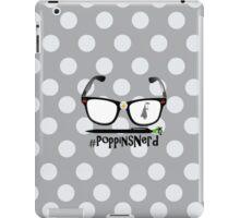 Polka Dot #PoppinsNerd  iPad Case/Skin