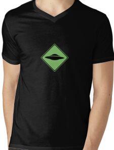 X-Files - UFO Mens V-Neck T-Shirt