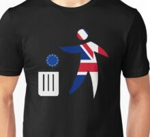 Toss the EU in the bin Unisex T-Shirt