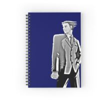 Phoenix Wright drawing style Spiral Notebook