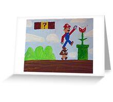 Goomba Stomp Greeting Card