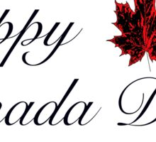 Happy Canada Day! Card Sticker