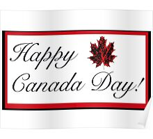 Happy Canada Day! Card Poster