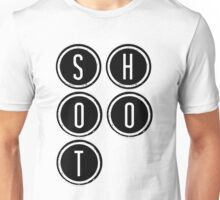 Shootdown (black) Unisex T-Shirt
