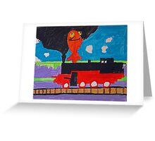 ChuChu Train Greeting Card