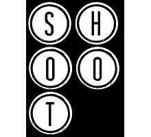 Shootdown (white) Photographic Print