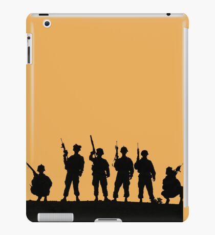 Army silhouette  iPad Case/Skin