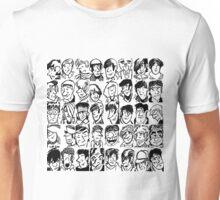 Face Collage  Unisex T-Shirt