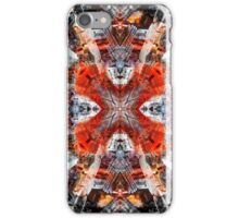 Fire - Abstract background pattern iPhone Case/Skin