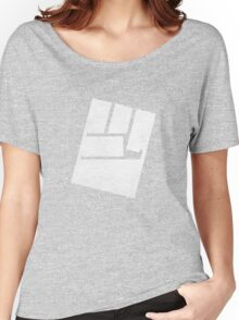 Black ★ Rock Shooter Strength Fist Women's Relaxed Fit T-Shirt