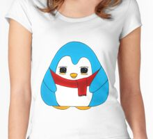 Boosberry Gum Drop Penguins Women's Fitted Scoop T-Shirt