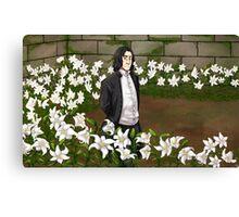 Lily Garden Canvas Print