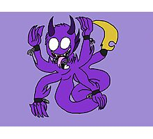 Chibi Phobia Vince (Atychiphobia-Night Terror 2 ) Photographic Print