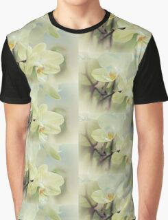 White Orchid Graphic T-Shirt