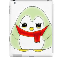 Mint Gum Drop Penguin iPad Case/Skin