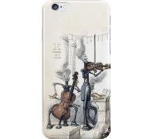 Without music, life would be a mistake.  Nietzsche and Grandville iPhone Case/Skin