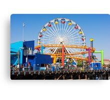 Pacific Park - Santa Monica California USA Canvas Print