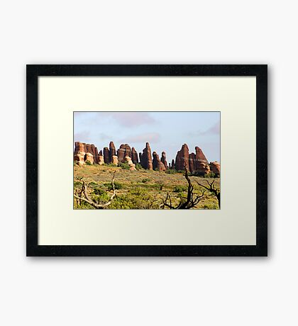 Arches 016 Framed Print