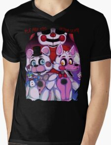 Fnaf - Sister Location  Mens V-Neck T-Shirt