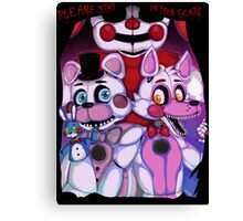 Fnaf - Sister Location  Canvas Print