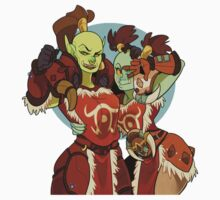 Orc BFFs by Whinecraft