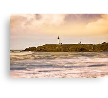 Newport Oregon - Nye Beach Canvas Print