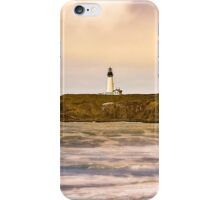 Newport Oregon - Nye Beach iPhone Case/Skin