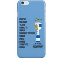 Uruguay 1950 World Cup Final Winners iPhone Case/Skin