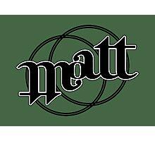 Matt ambigram Photographic Print
