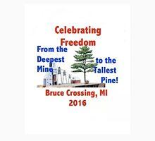 Bruce Crossing Fourth of July Celebration Unisex T-Shirt