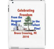 Bruce Crossing Fourth of July Celebration iPad Case/Skin