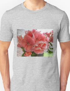Pink Flowers HDR Unisex T-Shirt