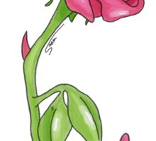 Enchanted Rose Sticker