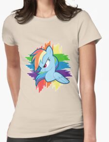 Get Ready For Rainbow Dash! Womens Fitted T-Shirt