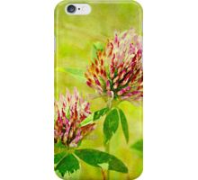 Wild Red Clover iPhone Case/Skin