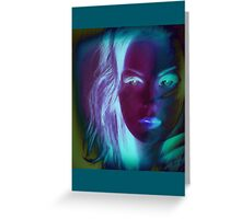 6561a Woman Greeting Card