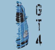 Light blue Porsche cayman gt4 Baby Tee