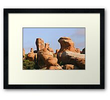 Arches 023 Framed Print