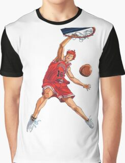 slam dunk Graphic T-Shirt
