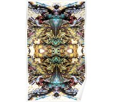 Abstract background pattern Poster