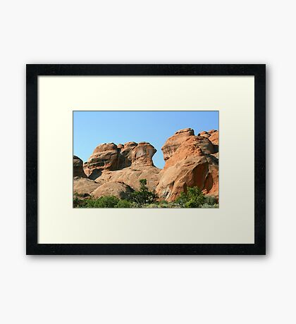 Arches 024 Framed Print