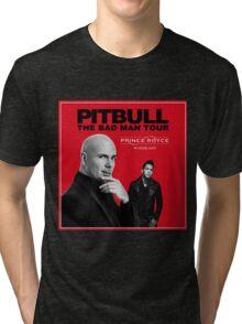 pitbull bad man tour red 2016 setan Tri-blend T-Shirt