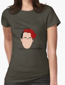 """""""Hello Everybody"""" - Markplier Womens Fitted T-Shirt"""