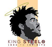 King Steelo : 1993 To Infinite Photographic Print