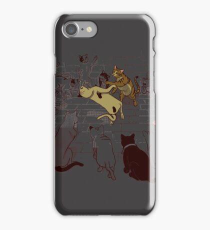 Cat Fight Club iPhone Case/Skin
