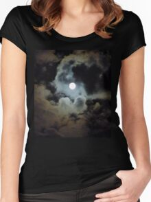 By the Light of the Moon Women's Fitted Scoop T-Shirt