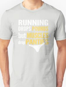 Muscles Drop Panties T-Shirt