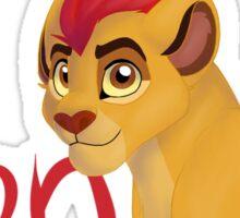 Kion-- the fiercest! Sticker